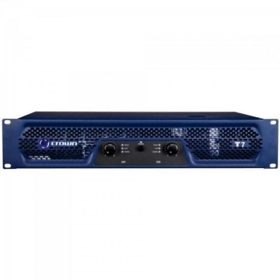 Amplificador 675W 8 Ohms 220V T-7 Azul CROWN