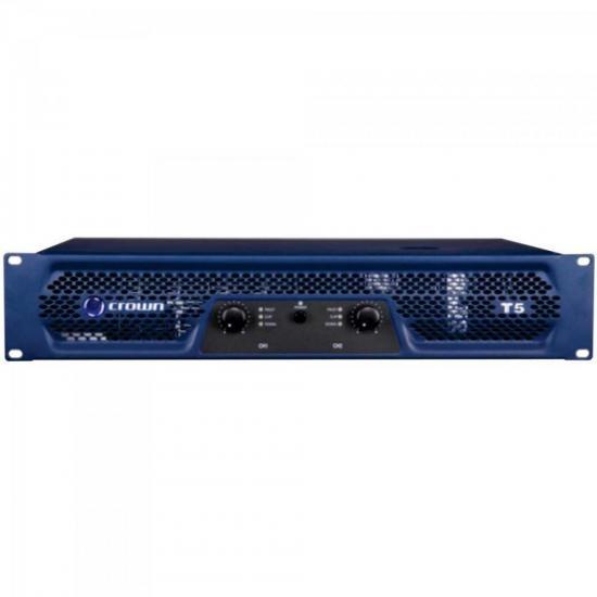 Amplificador 500W 8 Ohms 220V T-5 Azul