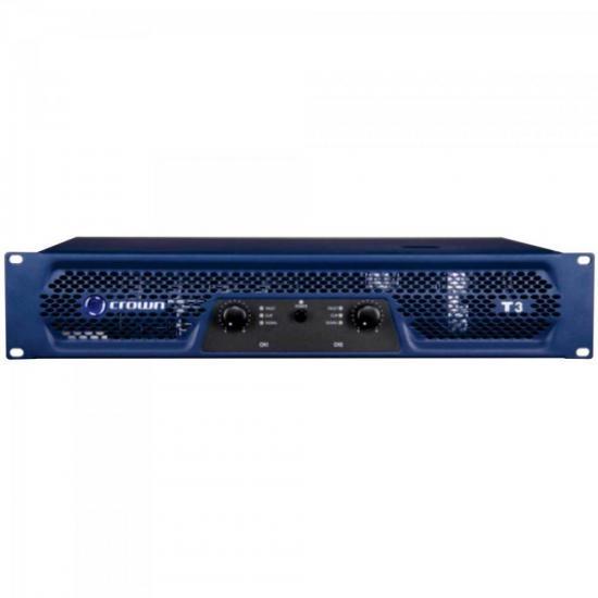 Amplificador 330W 8 Ohms 220V T-3 Azul CROWN