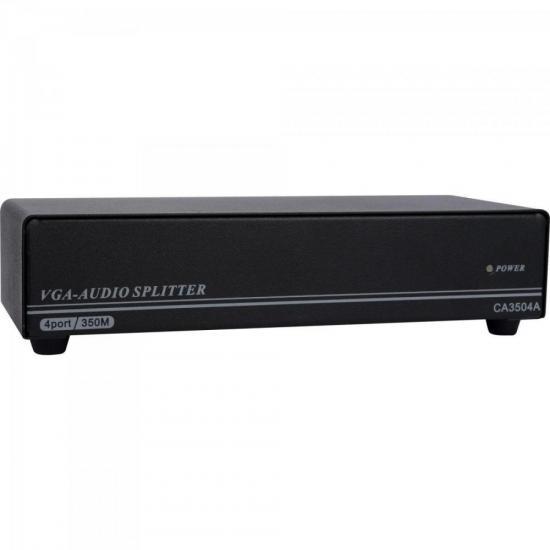 Distribuidor De Video VGA Composto c/ Audio 1 X 4 RONTEK