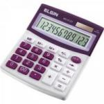 Calculadora De Mesa MV4127 Roxo ELGIN