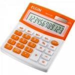 Calculadora De Mesa MV4128 Laranja ELGIN