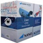 Cabo CFTV UTP 305m 04x24AWG Preto NANO ACCESS