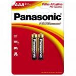 Pilha AAA Alcalina 1,5V LR03XAB/2B1 PANASONIC