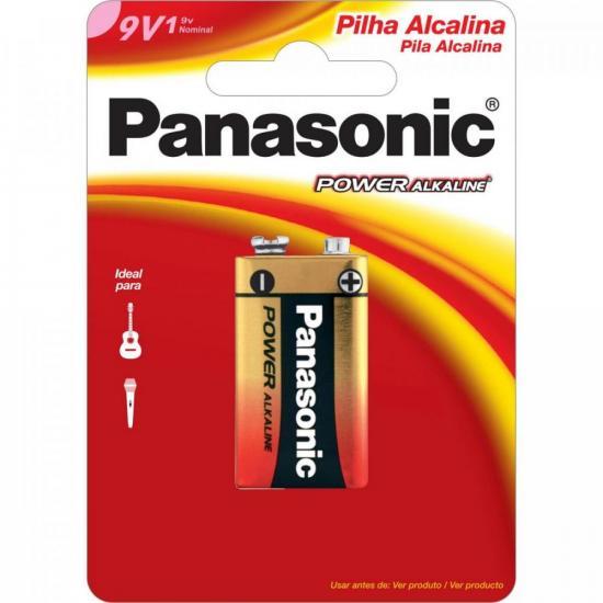 Bateria 9V Alcalina 6LF22XAB/1B24 PANASONIC
