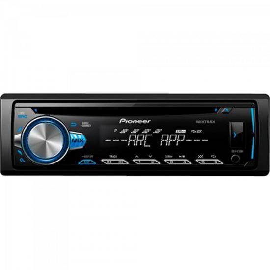 CD Player Automotivo DEHX10BR Preto PIONEER