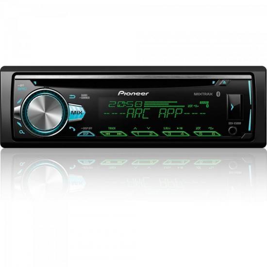 Auto Radio DEHX50BR Preto PIONEER