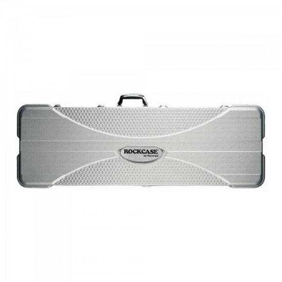 Case p/Contrabaixo ABS RCABS10505S4 Prata ROCKBAG