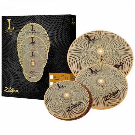 Kit Prato LOW VOLUME LV348 Cobre ZILDJIAN