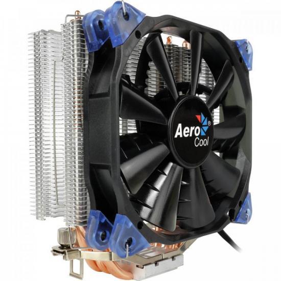 Cooler FAN VERKHO 4 Preto AEROCOOL