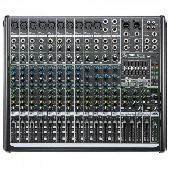 Mixer PROFX16V2 Chumbo MACKIE