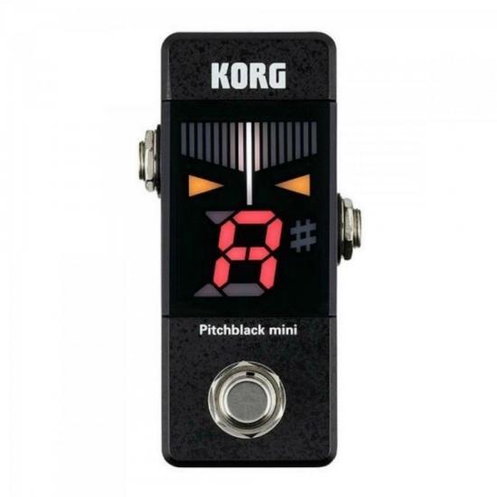Pedal Afinador p/ Guitarra/Baixo PB-MINI Preto KORG