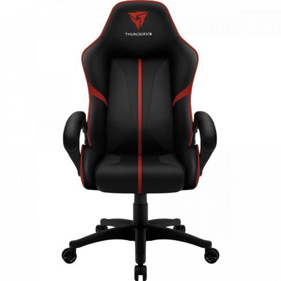 Cadeira Gamer Profissional AIR BC-1 EN61874 Preta/Vermelha