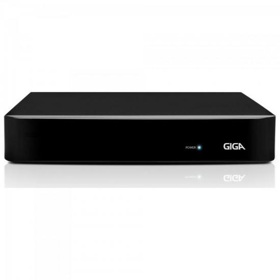 DVR HVR Open (5 em 1) 8 Canais 4MP GS08OPEN4MI2 Preto GIGA