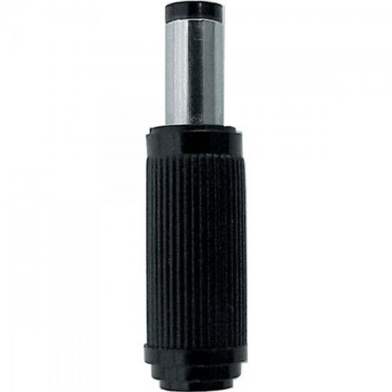 Plug P8C 118 Preto EMETAL