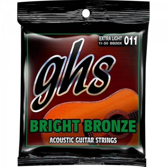 Encordoamento GHS Para Violão BB20X Bronze