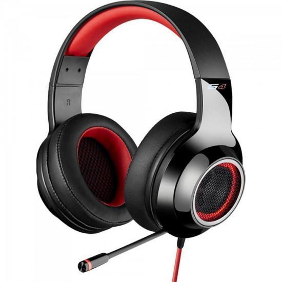 Fone de Ouvido com Microfone G4 Vermelho EDIFIER