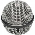 Globo Plástico para Microfone 50mm Prata MXT