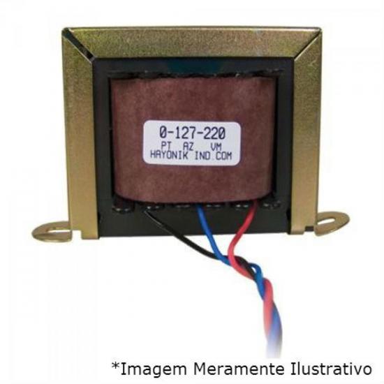 Transformador 12/100S 12VAC 127/220VAC 100mA HAYONIK