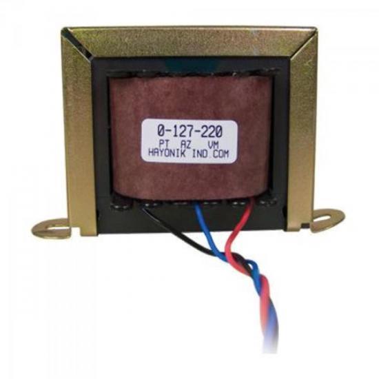 Transformador 6/1 6+6VAC 127/220VAC 670mA HAYONIK