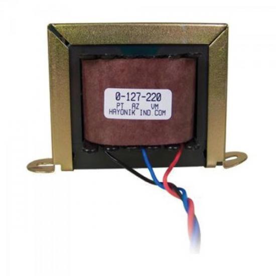 Transformador 12VAC 127/220VAC 600mA 12/1S HAYONIK