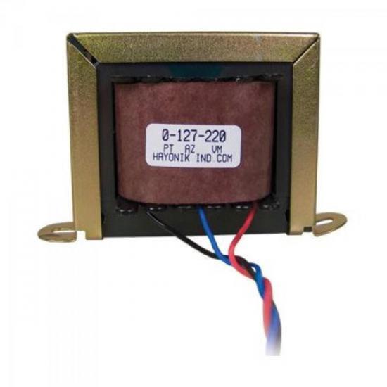 Transformador 16/2S 16VAC 127/220VAC 1,1A HAYONIK