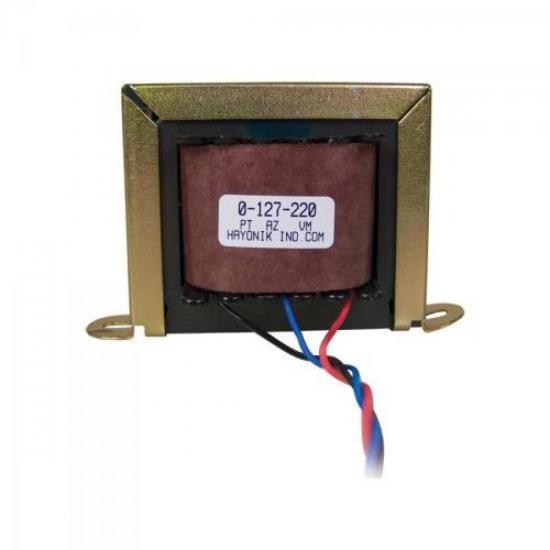 Transformador 18/3 18+18VAC 127/220VAC 1,2A HAYONIK