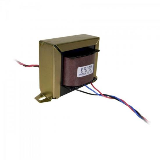 Transformador 6/10 6+6VAC 127/220VAC 10A HAYONIK